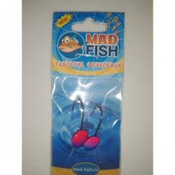 №4 Форелевая джиг-таблетка MadFish 1,5+2,1 г.(комплект 2 шт)