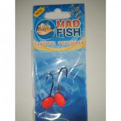 №5 Форелевая джиг-таблетка MadFish 1,5+2,1 г.(комплект 2 шт)