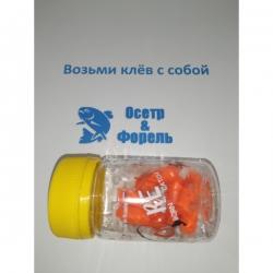 BARREL 27*9mm Сыр оранжевый 6шт (1.2гр)
