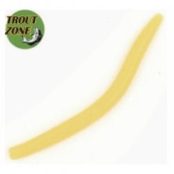 TROUT ZONE Wake Worm 2 Желтый сыр