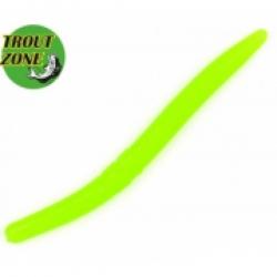 TROUT ZONE Wake Worm 2 Грин Шартрез сыр